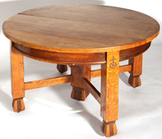 Roycroft Extension Dining Table No. 014