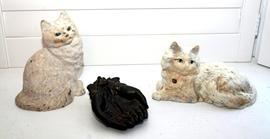 HUBLEY CAT DOORSTOPS