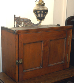 EARLY HANGING CUPBOARD