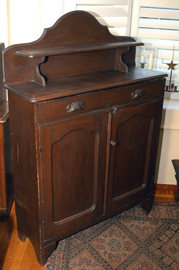 EARLY 2 DOOR CUPBOARD