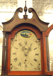 Detail of Grandfather Clock