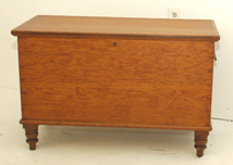 Early Pine Blanket Chest