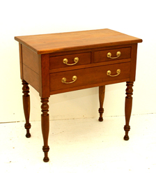 Early Cherry 3 Drawer Stand