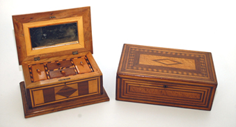 Early Inlaid Boxes