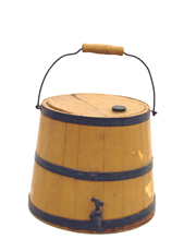 Maple Syrup Bucket in Old Yellow