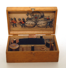 Clarks Mile End Sewing Box