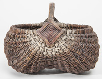 Folk Art Basket
