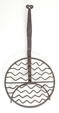 Fine Early Wrought Iron Griddle