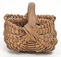 Miniature One Egg Buttocks Basket