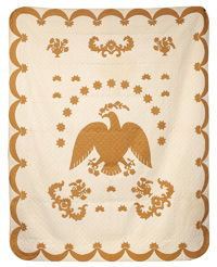 Applique Eagle Quilt