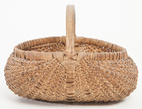 Split Hickory Buttocks Basket