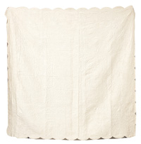 Early White Silk Quilt
