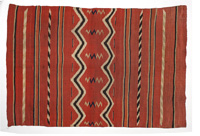 Fine Early Navajo Classic Serapi Weaving