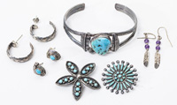 Silver & Turquoise Jewelry