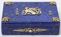 Outstanding Russian Gold Vermeil Snuff Box