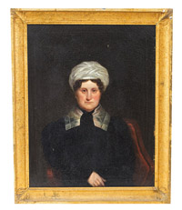 Portrait of a Lady by Joseph G. Cole