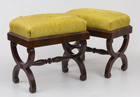 Pair Regency Footstools