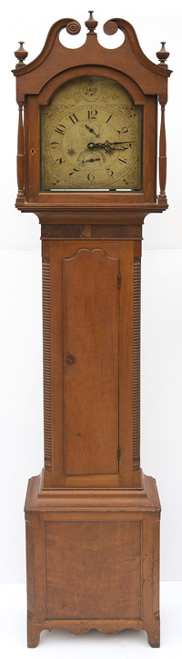 Silas Hoadley Tall Case Clock
