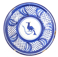Early Delft Painted Plate