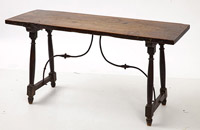 Early Walnut Spanish Table