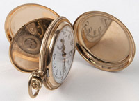 Swiss 13 Ligne Gold Pocket Watch