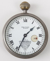 Waltham 37 Size Car Clock