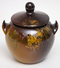 Rookwood Sugar Bowl by W.E. Hentschel