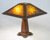 Contemporary Arts & Crafts Lamp