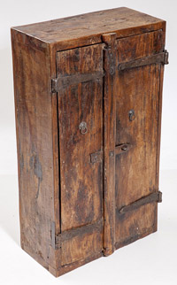 Early Chinese Two Door Cabinet