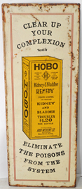 Hobo Remedy Advertising Sign