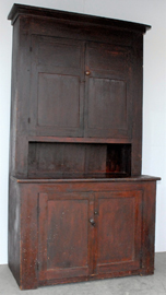 Early Cherry 2 Pc. Cupboard