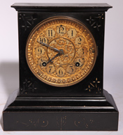 ANSONIA IRON CASE CLOCK