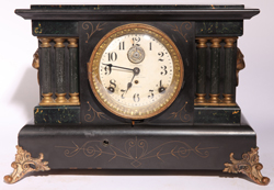 SETH THOMAS RARE AUTO 8-DAY LONG ALARM CLOCK