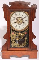FINE WALNUT KITCHEN CLOCK