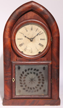 BREWSTER & INGRAHAMS BEEHIVE SHELF CLOCK