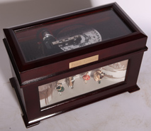 "ELECTRIC 4 3/4"" DISC MUSIC BOX"
