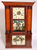 H. WELSH TRIPLE DECKER CLOCK