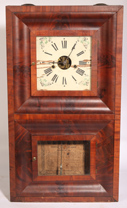 FORESTVILLE MFG. CO. SCARCE DOUBLE OGEE CLOCK