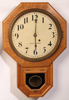 SETH THOMAS HANGING REGULATOR CLOCK