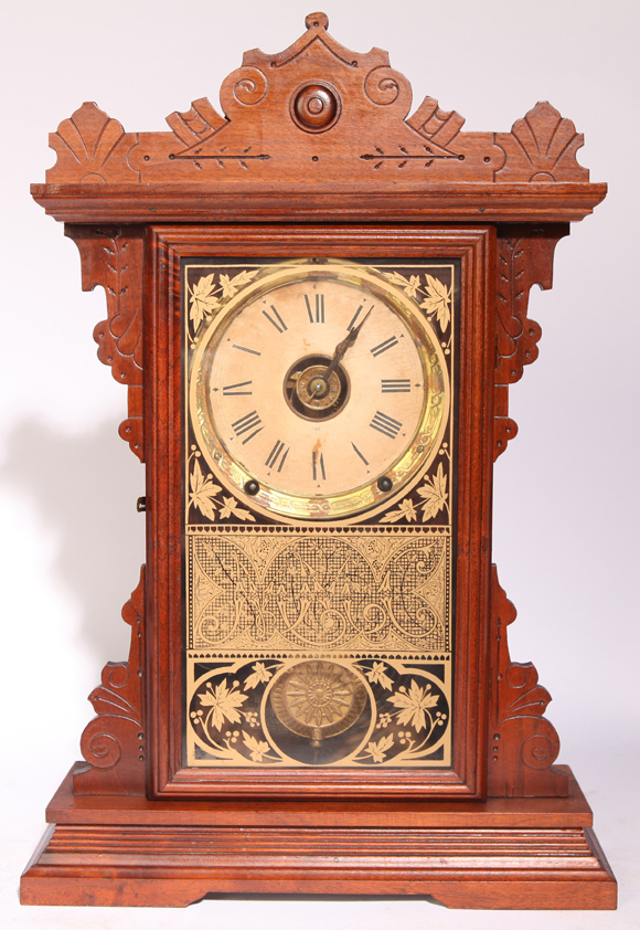 Seth Thomas Walnut Kitchen Clock