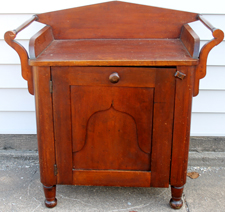 UNUSUAL CHERRY WASHSTAND