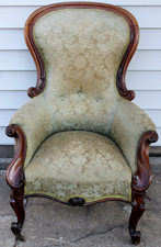 ROSEWOOD VICTORIAN CHAIR