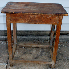 VERY EARLY TAVERN TABLE