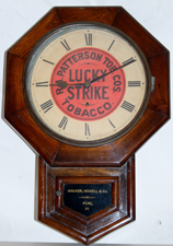 LUCKY STRIKE CLOCK