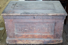 EARLY CARPENTER'S BOX