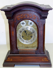 INLAID BRACKET CLOCK