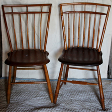 WINDSOR BIRDCAGE CHAIRS