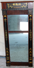 EARLY DECORATED MIRROR