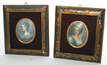 PAINTINGS ON IVORY