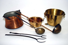 COPPER & BRASS ITEMS